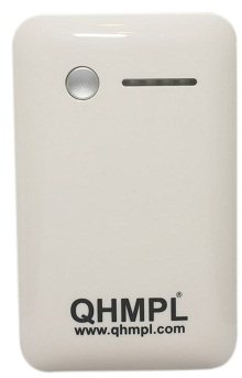 QHM7800-M Power Bank  Specifications :-      Capacity : 7800 mAh     Input : 5V/1A     Output 1 : 5V/1A     Output 2 : 5V/1A     Life Cycle : > 500times     Operation : Plug & Play     Battery Type : Built - In  Battery  Features:-      Ea - by Friends Computer Solution, Delhi