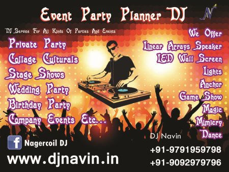 With over 5 years in the business DJ Navin is one of South Tamil Nadu's most prolific commercial dj's in the corporate and private event sector. Our unconventional styles of music have helped us work on way up through small parties to high  - by DJ In Madurai, Madurai