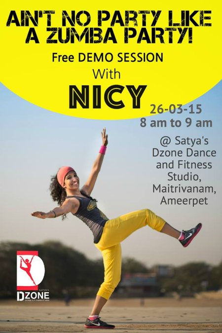 Working Times - by Satya's Dzone Dance & Fitness Studio, Hyderabad