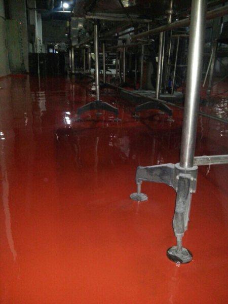 Chemical resistant coating in a beverage industry in Delhi NCR, India - by Sakshi Traders +919350026510, Noida