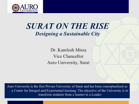 All Round Development Of Mind Soul And Body - by Auro University, Surat