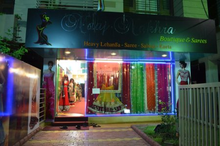 Plz check r new and fresh stock of saree, heavy lehanga and salwar kurta.... - by Naaj Nakhra, Indore