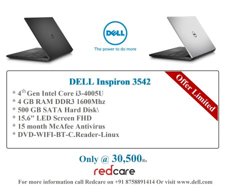 Do More With Dell Laptop..!! - by Red Care, Ahmedabad
