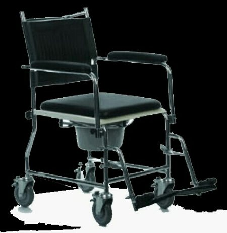 MANUAL COMMODE WHEELCHAIR  Commode wheelchairs can be used for toilet purpose of senior citizens and physically challenged people