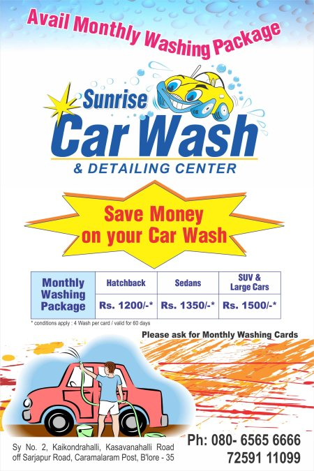 Monthly Washing Package