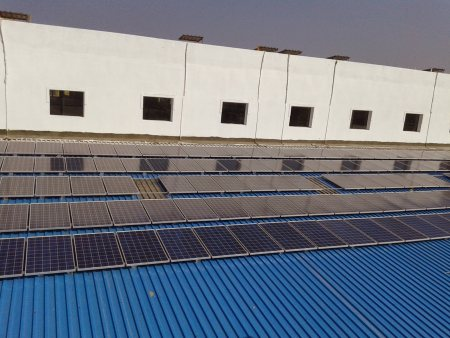 KASHYAP Has successfully commissioned a 112 KW capacity Grid Tied Rooftop Solar Power Project for Medizest Pharma at Verna, Goa - by KASHYAP INFRAPROJECTS PVT.  LTD.,