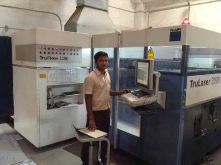 We Provide Laser Metal Cutting Job in chennai - by Sharp Industries, Chennai