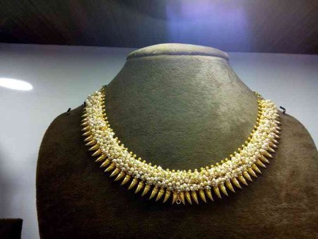 Pearl gejje necklase - by Jewels India antique shoppe, Bangalore