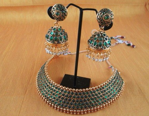 Elegant design only @3500. With lifetime warranty. - by Elegant Jewellery, baroda