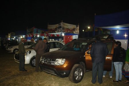 aurtomobile stalls at Vision INdia - by Sunrise Welfare Charitable Trust, Jamshedpur