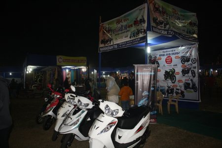 TVS Stall at Vision India 2015 - by Sunrise Welfare Charitable Trust, Jamshedpur