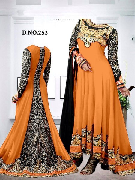 TOP 60 Gms :  3 Mts Dupata Nazmeen : 2.1 Mts with less border Inner Bottom : Heavy Santoo 4 Mts  Available now  Price : Rs - 1800 - by Shradha Collections, Delhi