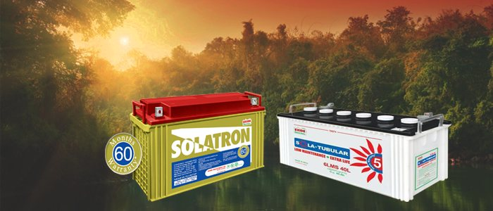 Exide brings you various types of batteries for UPS application:   SMF VRLA Range   Flooded Tubular Range, SMF Tubular Gel Range, The batteries are widely used in UPS Systems, Telecommunication Systems, Office Automation Equipment, Security - by Exide Power Centre, Hyderabad