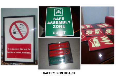 Safety Signage - by Excel Mart, Chennai