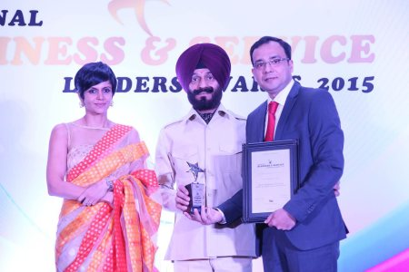 A proud moment upon receiving the award for The Most Promising Urologist in Delhi and NCR - by Urologist Dr Anshuman Agarwal, Delhi