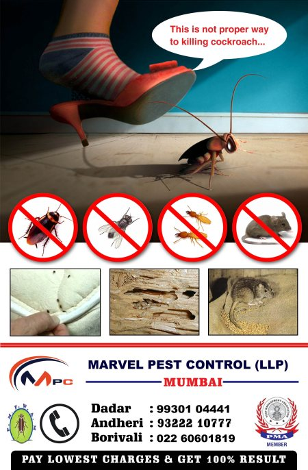 All Advance technology for Pest Control  - by Marvel Pest Control (L.L.P), Mumbai