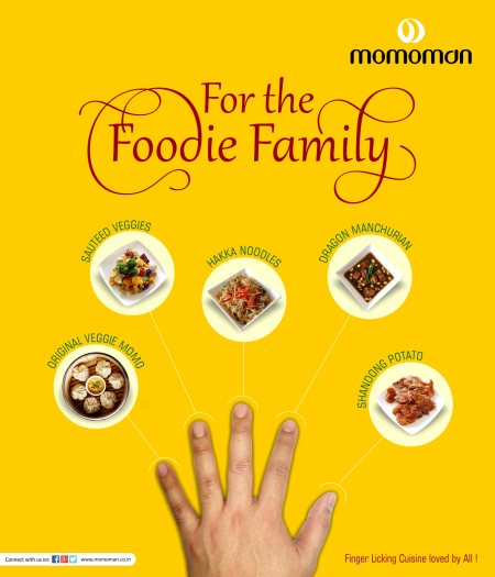 Cuisine that all would love! It's for the Foodie family.  #foodies #momoman #momo #noodles #curries #quickies