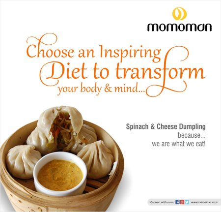 Take a breath now as the results are out. Celebrate the success of your hard work! Transform your mind and body with these Spinach and Cheese Momos. Enjoy with friends @ Momoman.  #food #momo #momoman #wearewhatweeat #spinach #cheese #exam - by M O M O M A N, Ahmedabad