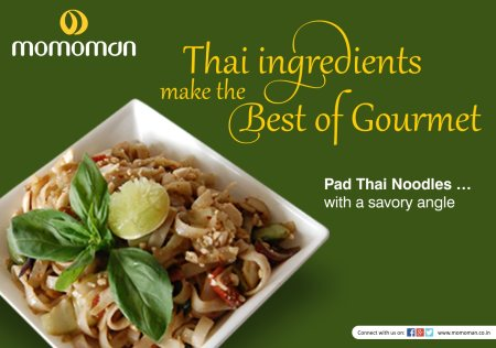 It is said that the best gourmet is prepared with Thai ingredients!  #momoman #noodles #thaifood