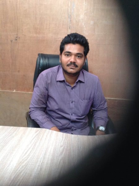 Company owner Mr. Shubham prajapati   - by Ambica Polymers, Ahmedabad