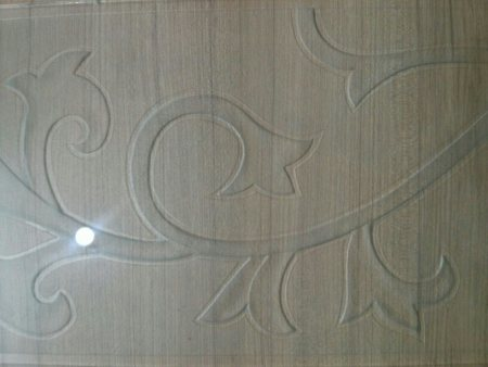 Design etching work at sri priyanka glass.these kind of glasses can be used for sliding doors and partitions.
