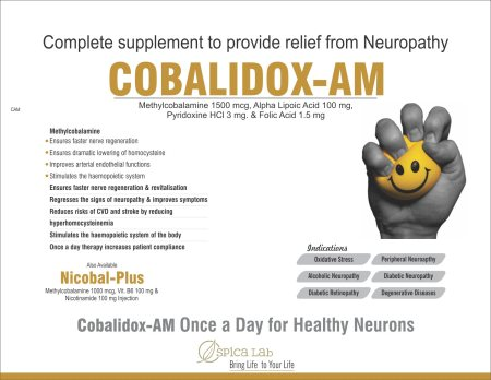 Complete Supplement to Provide relief form Neuropathy - by Spica Lab, Ahmedabad