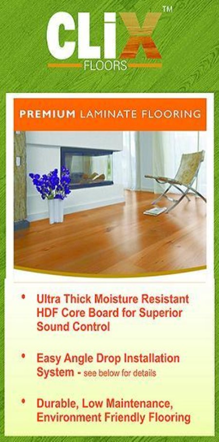 Clix Floors - Premium Laminate Flooring. - by Refine Floors, Ahmedabad