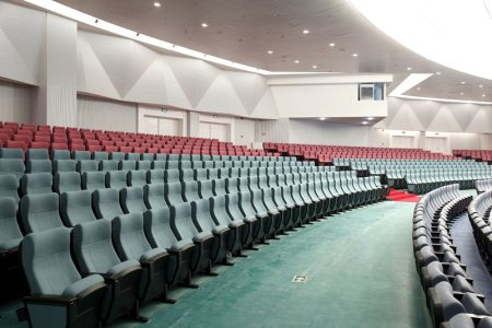 we are the integrators of auditorium chairs and accoustics solutions - by Metro Av Solutions, Chennai