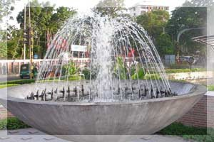 Seamless integration of plants with stunning stone features is an ideal option. Some popular options include indoor, outdoor and garden water fall and fountain. We believe in providing you qualitative facilities at reasonable and competitiv - by ANZ Landscaping, Bangalore