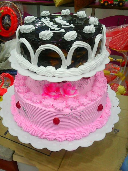 special strawberry with terrafle cake