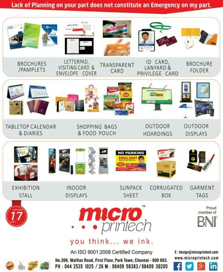 Microprintech. com - by Microprintech, Chennai