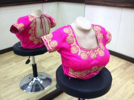 SILK DESIGNER BLOUSES - by Shree Arbuda Matching centre, Ahmedabad