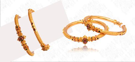 Every Inch Of Gold Crafted With Passion @ Sri Bhavani Jewels Himayath Nagar / Malakpet 040-23221662/23226645.