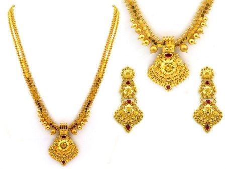 traditional gold ornaments - by OM ALANKAR, Nashik