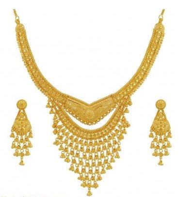 gold fancy jewelry - by OM ALANKAR, Nashik