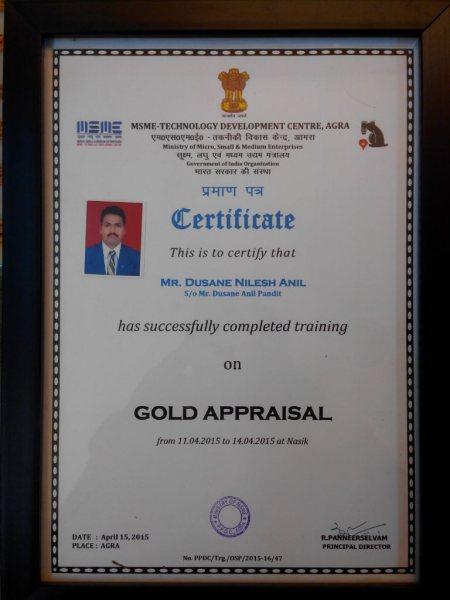 Govt. Approved Gold Valuer Of India - by OM ALANKAR, Nashik