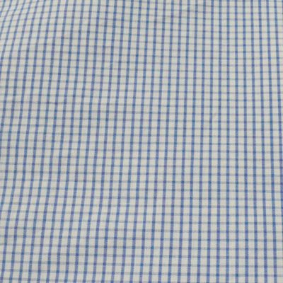 Exciting Monsoon Offer on Raymond Suiting & Shirting Fabrics! Grab your offer!   Raymond White & Blue Small Check Shirting Fabric- 10% Off on today's purchase