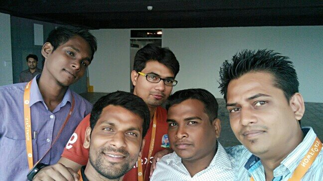 Candidates Attending the Training Having Selfie Shot at NowFloats Office hyderabad - by Product Specialist, Hyderabad
