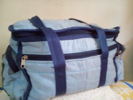 A bag made out of an old, used JEANS... - by Old Is Gold, Pune