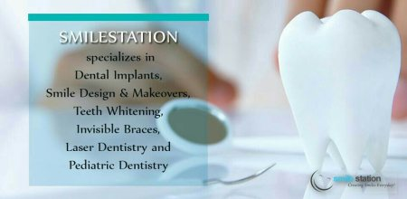 Smile Station is the Centre of Excellence for Smile Designing & Makeovers, Dental Implants and Invisible braces.   Established in 2007, with over 4000 clients we are one of the best dental clinics in Indiranagar, Bangalore (Bengaluru)