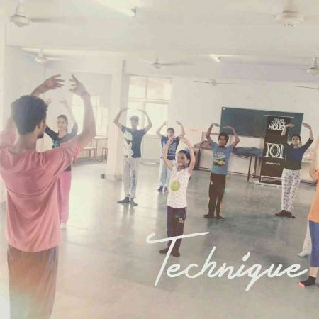 Technique is all we need to perfect ourselves - by Delhi Dance House, Faridabad, Delhi