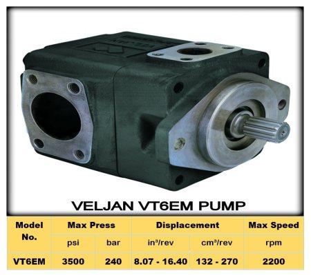 """ VELJAN VT6EM Pumps ""   To Know More about Veljan VT7QC1/C2 Pump & Download PDF http://2.imimg.com/data2/XS/KR/MY-2405935/vt6em-pumps.pdf - by Shri ANK Enterprise Pvt. Ltd Call 07930447131, Ahmedabad"