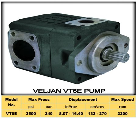 """ VELJAN VT6E Pump ""  To Know More about Veljan VT7QC1/C2 Pump & Download PDF  http://2.imimg.com/data2/NH/HG/MY-2405935/vt6e-pumps.pdf - by Shri ANK Enterprise Pvt. Ltd Call 07930447131, Ahmedabad"