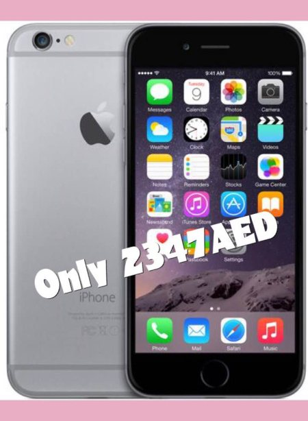 iPhone 6 16GB 2347AED - by Best price, Dubai