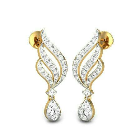 too earrings - by Valli Diamond Palace, Chennai