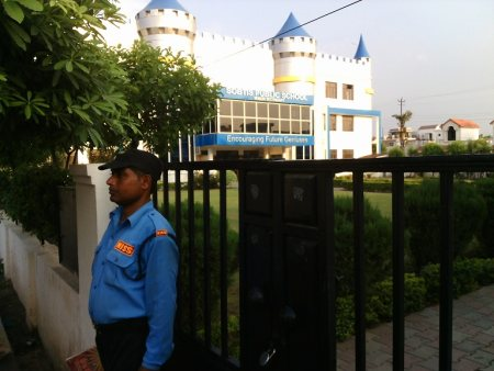 we are providing best security services for Colleges, School, Kindergarten, Nursery, As per requirement for security force we have very good and smart security guard available for our customer safety.     - by New Industrial Security Service, Bareilly