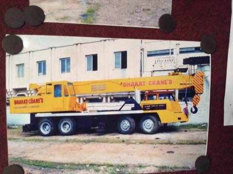 Crane services in Hyderabad - by BHARAT CRANE, Kukatpally Hyderabad