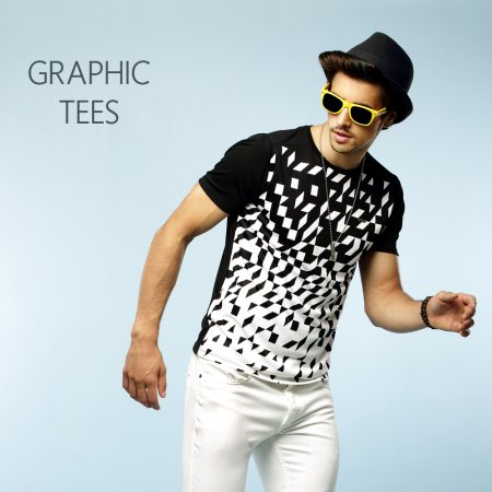 Get your tee with an attitude from our cool range of graphic tees. Available at your nearest Basics store.   - by BASICS LIFE - EXPRESS MALL, Chennai