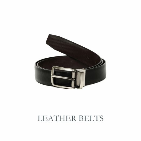 Hold it up nice and tight with a smart leather belt. Available in a range of colours at your nearest Basics store.  - by BASICS LIFE - THANE, Mumbai
