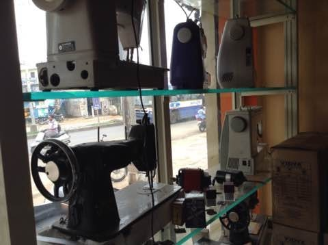 We are into sales and service for all kinds of sewing machines in Khushaiguda